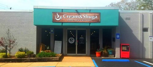 Cream and Shuga Coffee near Traditions of Braselton in Jefferson (image used with permission of Cream and Shuga Coffee)