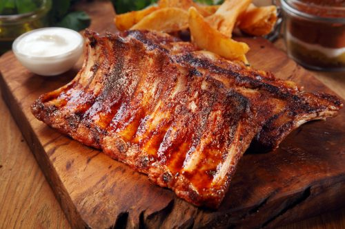 Barbecue ribs like you will find from around Braselton [foodandmore] © 123rf