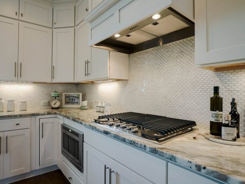 The builders at Traditions of Braselton create beautiful kitchens