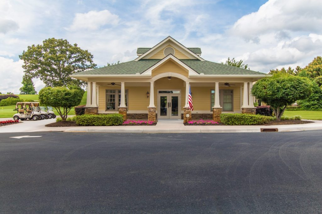 The golf club in Traditions of Braselton
