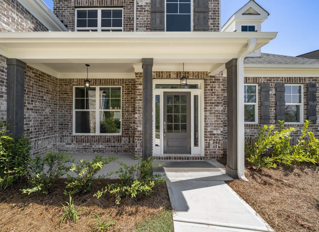 Our builders can create a custom porch in traditions of Braselton