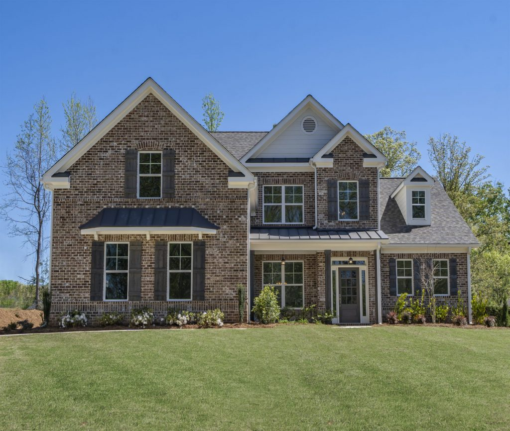 a two story home in traditions of braselton