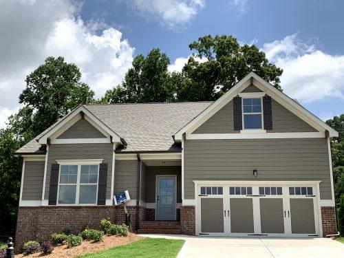 A HillGrove Home on a gorgeous blue sky
