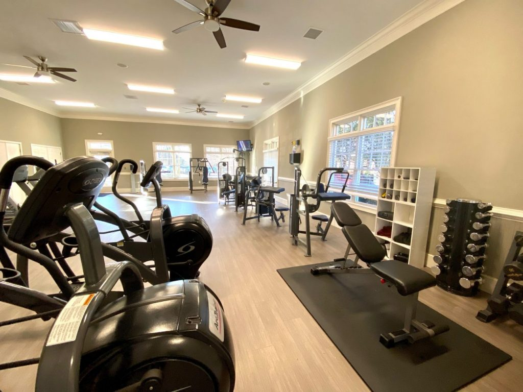 The owners' gym in traditions