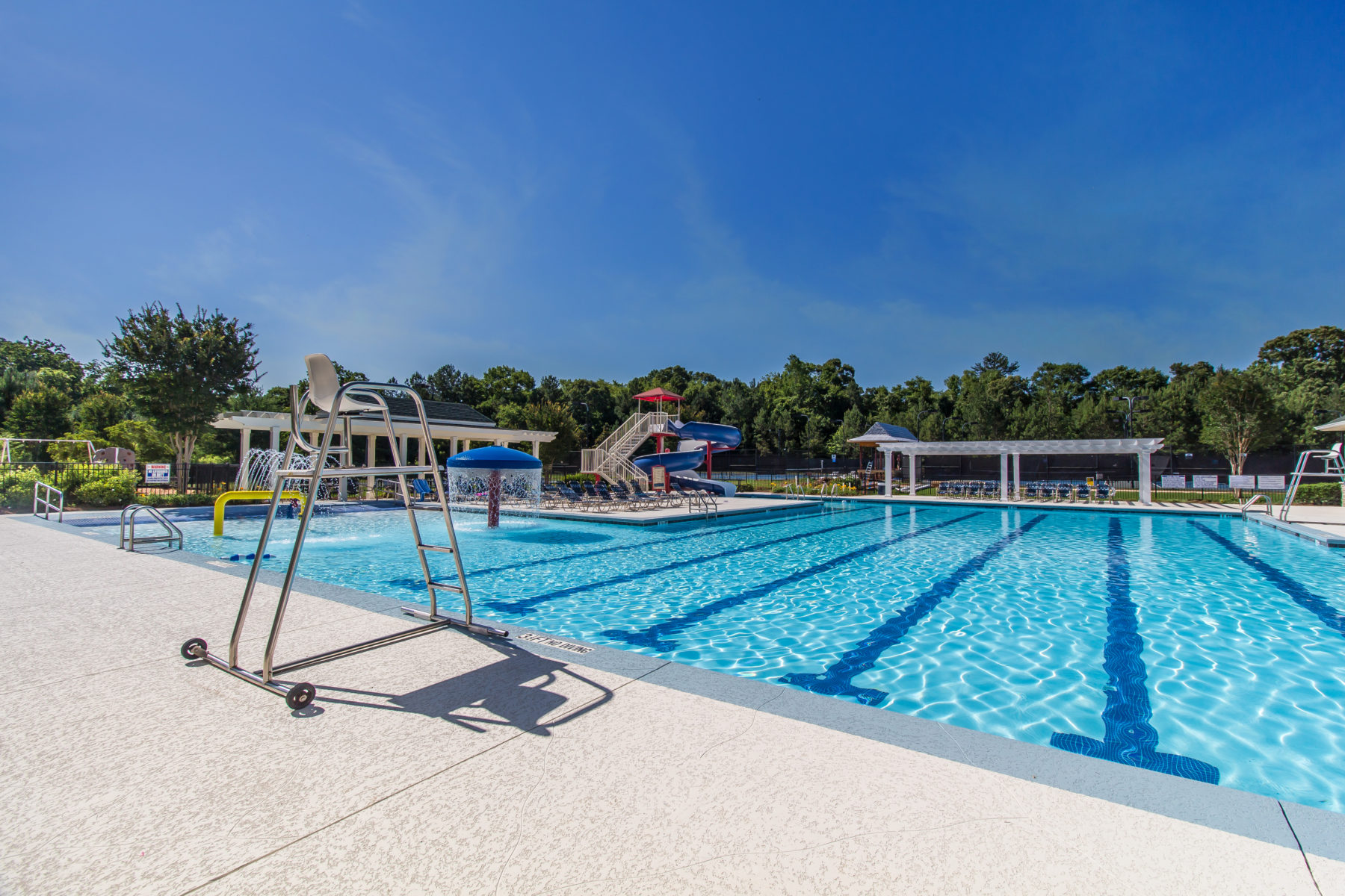 The pool at traditions of braselton