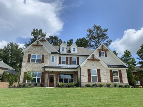 Single-family home in Braselton - one of our many home designs in Traditions of Braselton