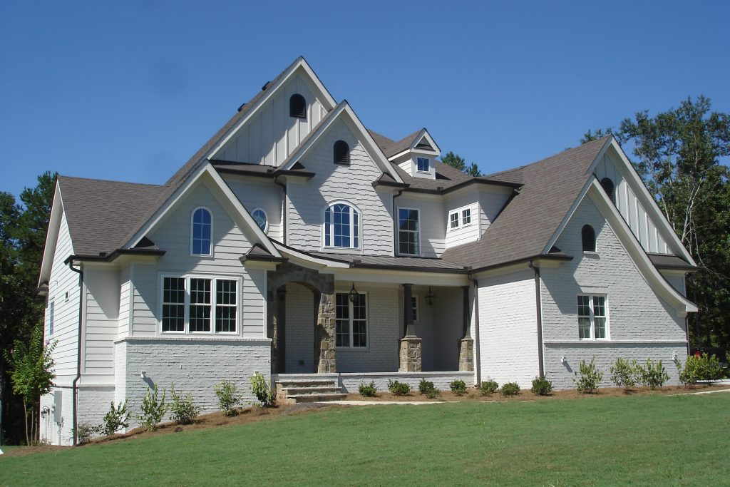 Custom home designs in Traditions of Braselton