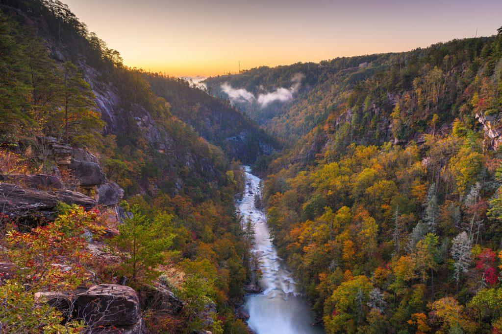 Tallulah Falls - a weekend destination near Traditions of Braselton