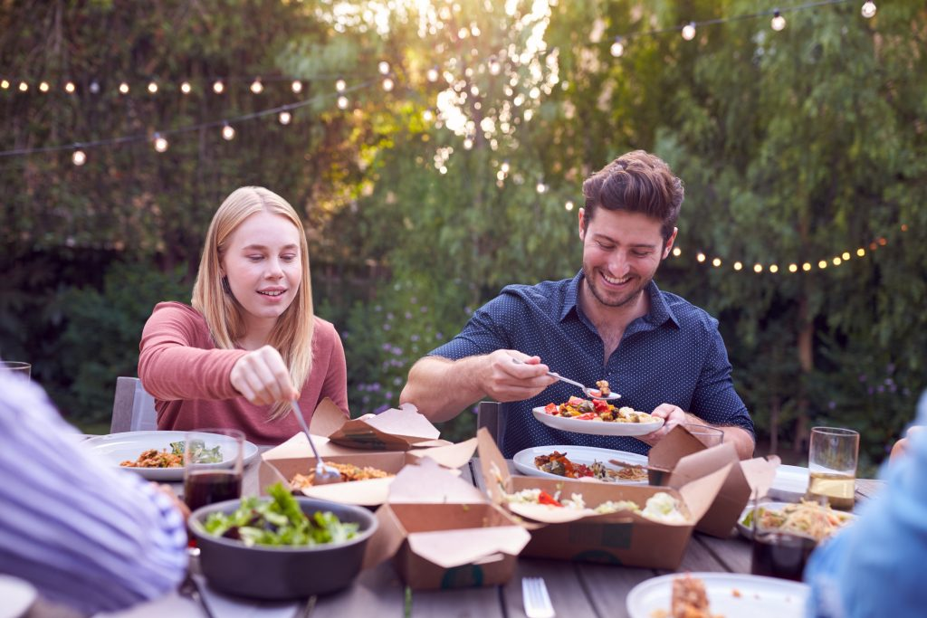 Spend summer with a big yard in traditions of braselton, inviting friends over for cookouts