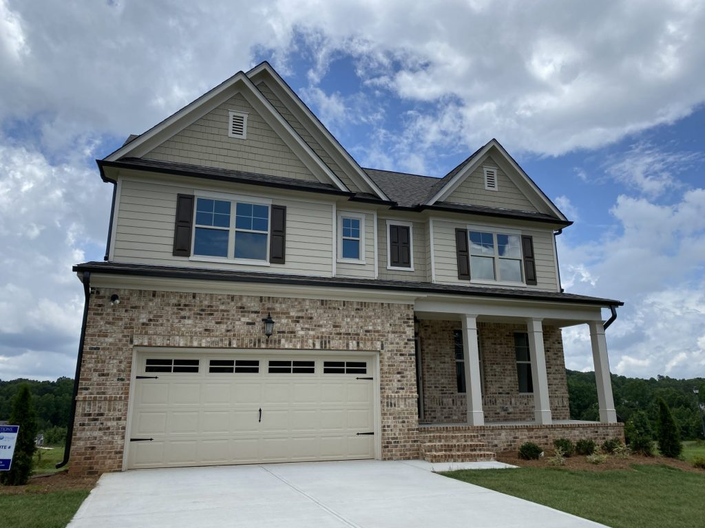 New homes at Traditions of Braselton exterior